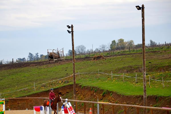 Private Outdoor Horse Arena