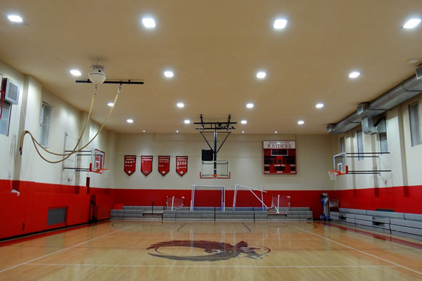 Regis High School Gymnasium LED Highbay